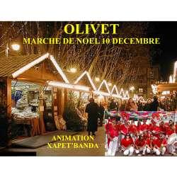 Marché Noël Olivet